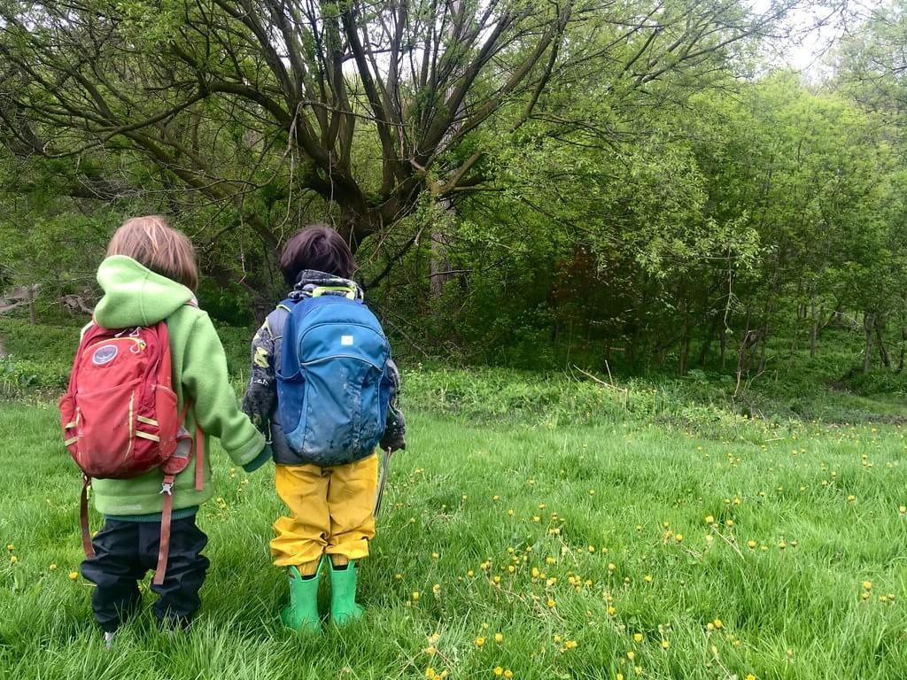 Join us weekly or monthly at Outdoor School. Learn more.